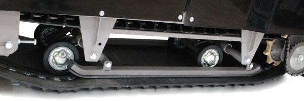 Склизовая подвеска мотобуксировщика