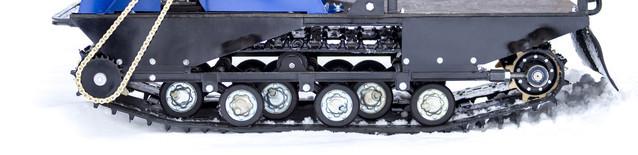 Катковая подвеска мотобуксировщика